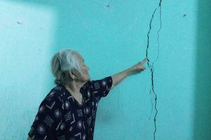 Vụ công trình 'khu đất vàng' ở Huế gây nứt nhà: Hai hộ dân từ chối đền bù