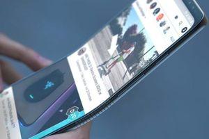 Ý tưởng Galaxy Note9 có thể gập đôi