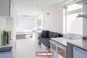 Vẻ đẹp của căn hộ 15m2 khiến ai cũng phải trầm trồ ngạc nhiên khi nhìn thấy