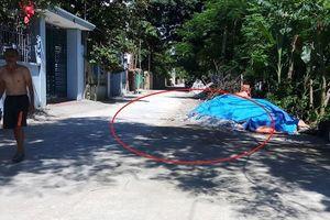 Nghi can trộm cắp tử vong trên đường bỏ chạy ở Thanh Hóa
