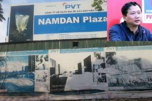 Đề nghị thu hồi dự án Nam Đàn Plaza liên quan Trịnh Xuân Thanh