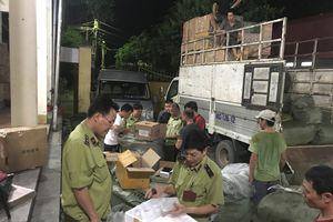 Lạng Sơn: Thu giữ 250 đôi giầy thể thao có dấu hiệu giả mạo nhãn hiệu Adidas