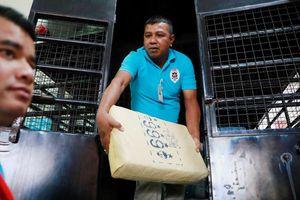 Thái Lan thu giữ số ma túy đá trị giá 45 triệu USD