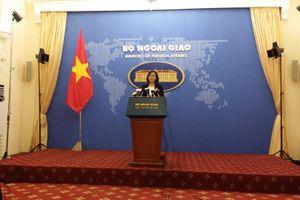 Việt Nam yêu cầu chấm dứt ngay các hoạt động diễn tập bắn đạn thật ở đảo Ba Bình