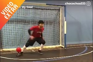 Kinh ngạc cỗ máy phát bóng để nâng cao phản xạ cho thủ môn