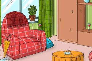 Câu đố: 3 đồ vật nào lật tẩy lời nói dối của chủ nhà?