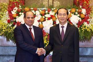 Chuyến thăm lịch sử nâng tầm quan hệ Việt Nam - Ai Cập