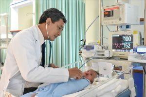Phẫu thuật phình đại tràng thành công cho bệnh nhi 2 tháng tuổi