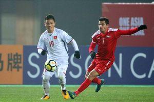 U23 Việt Nam tái ngộ U23 Syria ở tứ kết ASIAD