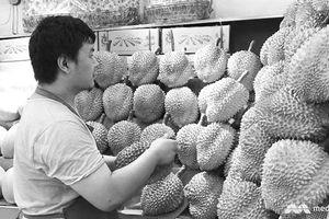 Trái sầu riêng ở thị trường 1,4 tỷ dân