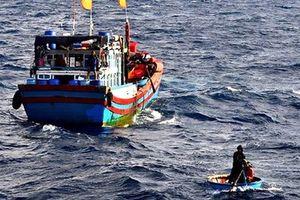 Huế: Tìm kiếm 2 ngư dân bị mất tích khi đang đánh cá trên biển