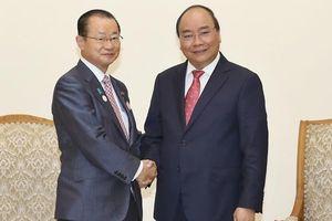 Thủ tướng Nguyễn Xuân Phúc tiếp Đoàn nghiên cứu Hạ viện Nhật Bản