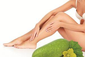 Bí đao: Đẹp da và giảm béo