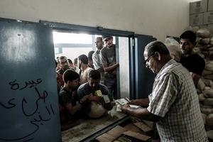 LHQ cạn kiệt ngân sách hỗ trợ nhân đạo cho Dải Gaza