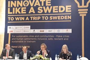 Phát động Cuộc thi 'Sáng tạo như người Thụy Điển' năm 2018