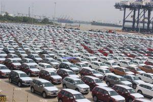 Hàng ngàn ô tô Thái Lan nhập khẩu về cảng Hiệp Phước