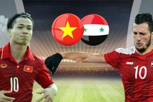 Việt Nam có thể gặp Syria tại tứ kết, gặp Uzbekistan tại bán kết