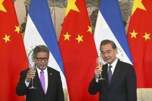 Mỹ-Trung tranh cãi vì chuyện El Salvador cắt quan hệ với Đài Loan