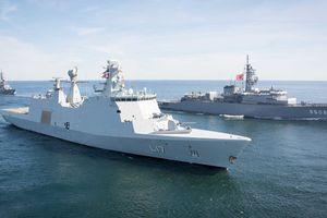 NATO và Lực lượng phòng vệ biển Nhật Bản tập trận chung tại biển Baltic