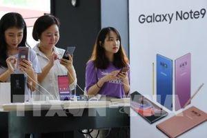 Samsung Galaxy Note 9 chính thức ra mắt thị trường Ấn Độ