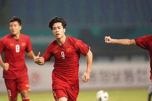 Cận cảnh bàn thắng lịch sử của Công Phượng vào lưới U23 Bahrain