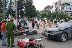 Nữ tài xế xe BMW gây tai nạn liên hoàn khai gì tại cơ quan công an?