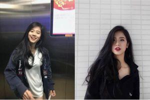 Chụp vội tấm hình trong thang máy, cô gái Thanh Hóa bỗng nổi tiếng