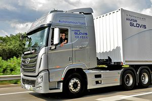 Hyundai chạy thử thành công xe tải tự lái cỡ lớn
