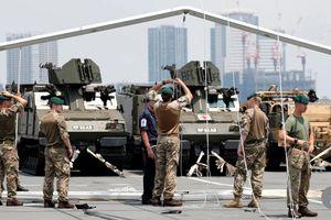 Nhật Bản - Anh hủy tập trận do bão lớn
