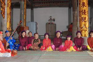 Lưu giữ ca trù Chanh Thôn