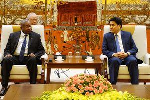 Đẩy mạnh các hoạt động hợp tác giữa Mozambique và Hà Nội