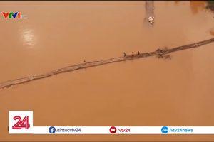 Người dân Lạng Sơn suốt nhiều năm phải liều mình qua sông bằng cầu tạm