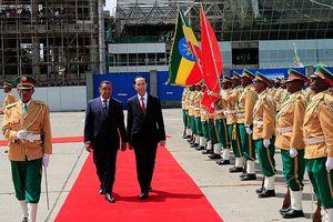 Chủ tịch nước thăm cấp nhà nước Ethiopia và Ai Cập