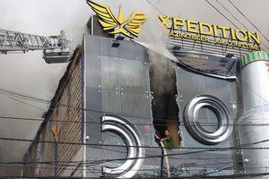 Cháy quán bia Xpedition ngay trung tâm Đà Lạt