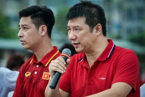 BLV Quang Huy - nước mắt và vinh quang cùng Olympic Việt Nam