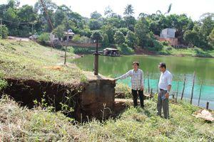 Nhiều hồ chứa nhỏ của Đăk Lăk xuống cấp nghiêm trọng