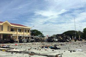 Bắt thêm 4 đối tượng gây rối trước UBND tỉnh Bình Thuận