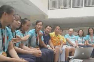 Ngất ngây chiến thắng với Olympic Việt Nam, gặp gỡ 4 cô gái vàng rowing