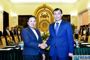 Tham khảo Chính trị giữa hai Bộ Ngoại giao Việt Nam - Lào lần thứ ba