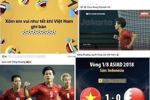 Facebook 'nổ tung' khi Việt Nam lần đầu vào tứ kết Asiad