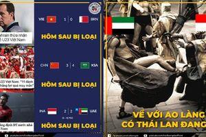 Người Trung Quốc và Indonesia khóc hận vì coi thường Olympic Việt Nam