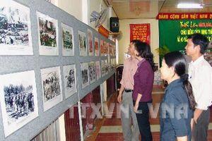 Trưng bày gần 250 hình ảnh, tư liệu quý về Bác Hồ