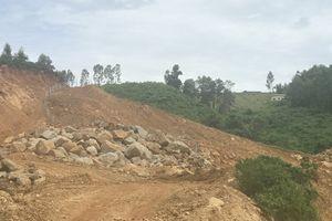 Hồ chứa nước Trà Cân vẫn an toàn