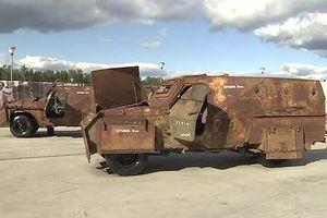 Nga trưng bày vũ khí Mỹ-NATO chiếm được tại Syria ở Moscow