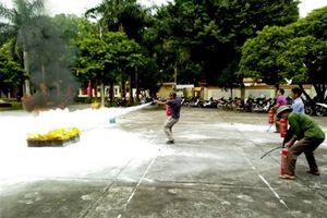 Xã Lệ Chi huyện Gia Lâm tập huấn phòng cháy chữa cháy