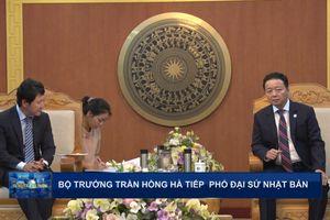 Bộ trưởng Trần Hồng Hà tiếp Phó Đại sứ Nhật Bản tại Việt Nam