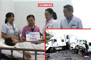 Các nhà hảo tâm góp gần 6,5 tỷ đồng giúp đỡ nạn nhân sống sót trên xe rước dâu gặp nạn