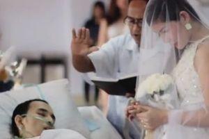 Cô dâu lấy chú rể ung thư giai đoạn cuối, đám tang sau đám cưới