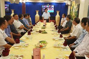Gặp mặt các tướng lĩnh Ninh Bình tại TP mang tên Bác