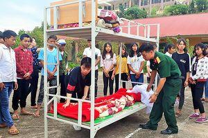 Học sinh Lào Cai hào hứng với mô hình rèn luyện tại trường nội trú